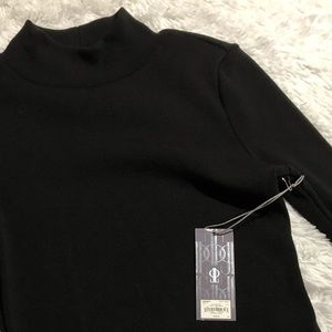 Jennifer Lopez Black Turtle Neck